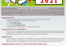 """Tari 2021: scadenze, agevolazioni, contributi, esenzioni """"Covid-19"""" per attività e commercianti"""