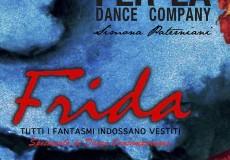 """Spettacolo di danza """"Frida. Tutti i fantasmi indossano vestiti"""" al """"Tiberini"""""""