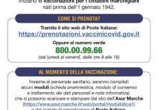 Coronavirus, Piano Vaccini Over 80: avviate prenotazioni per soggetti 'non deambulanti'